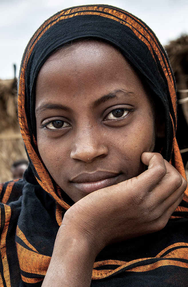 Ethiopian Beauty by massimo piconcelli