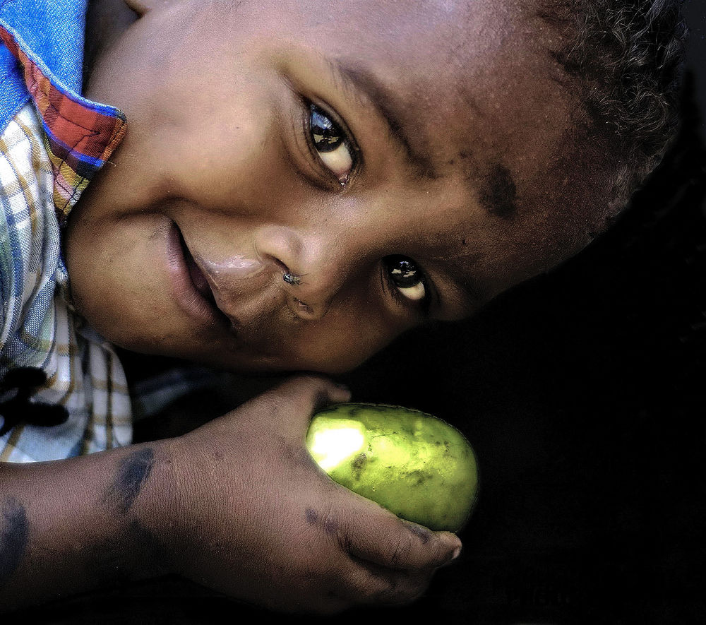 Malagasy Child by massimo piconcelli