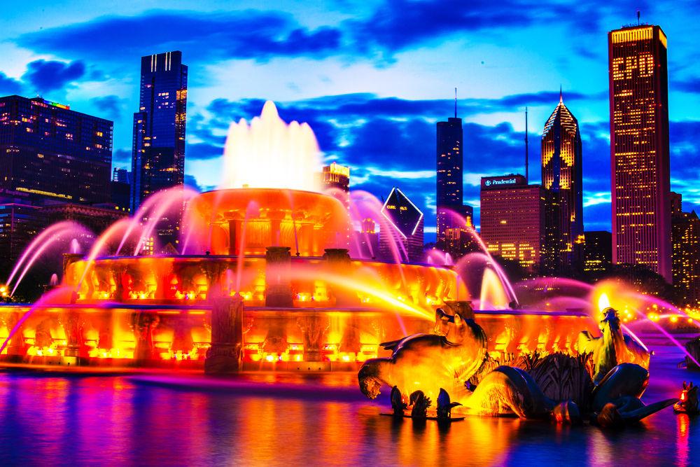 Chicago Buckingham Fountain by studio_21