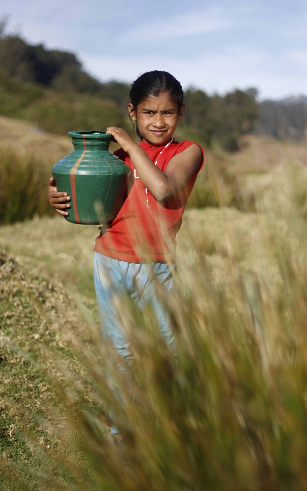 little girl by ajeshmady