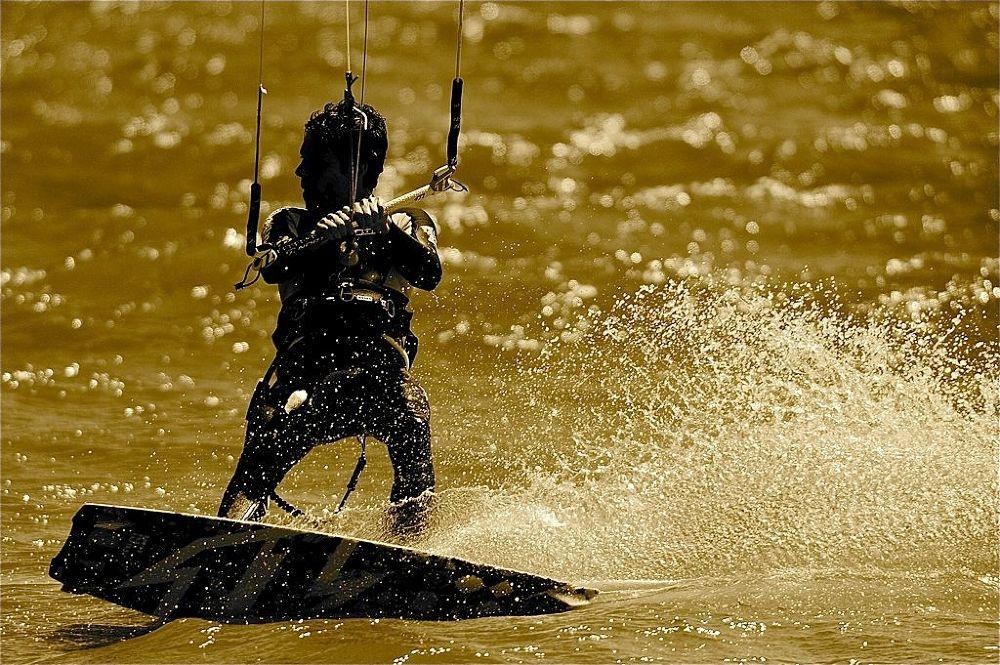 "...""Kite surf""... by claudiogennari"