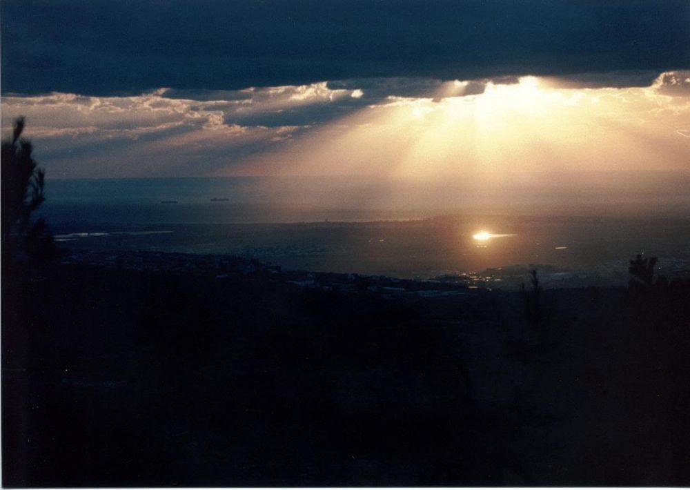 Rise of the Sunset by Yehuda Yahav