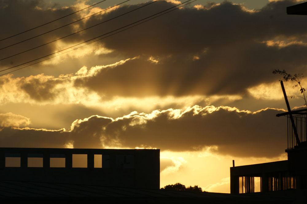Urban Sunset by Yehuda Yahav