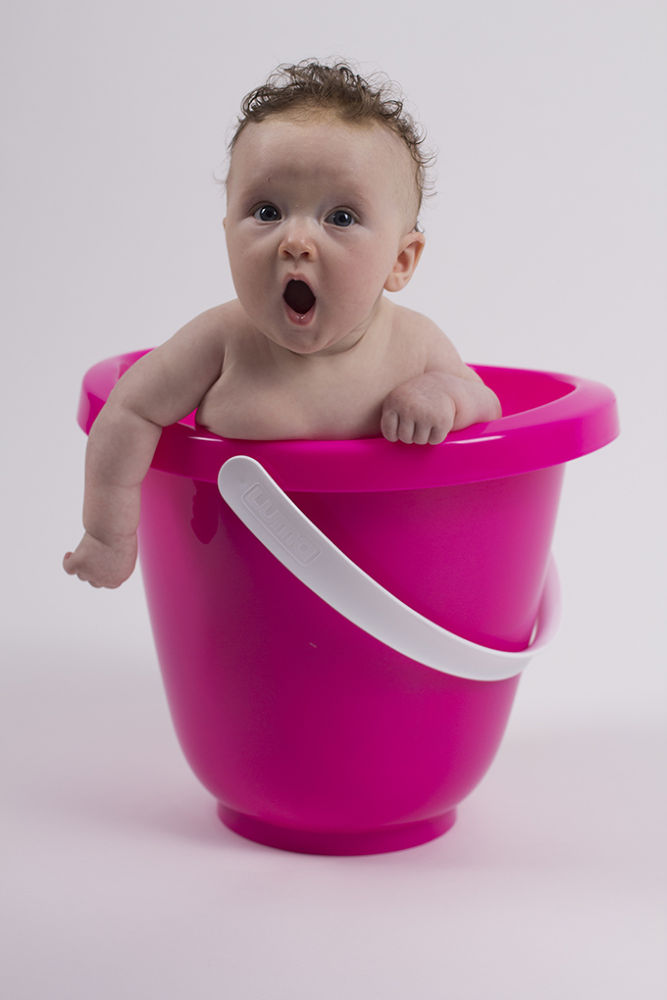 Photo in Family #bucket #water #baby.
