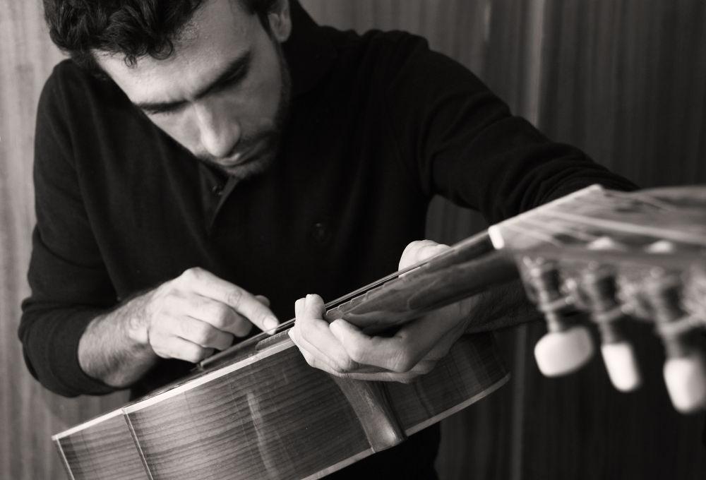Guitar repairman by zarelavasani