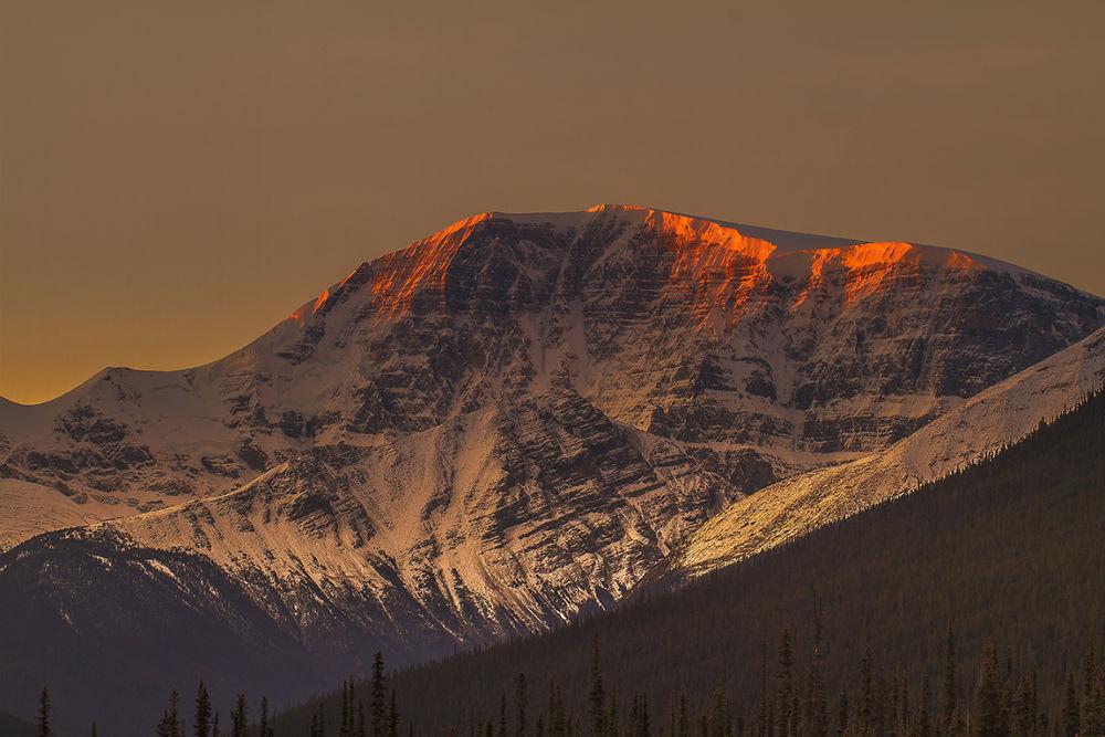 Photo in Landscape #bunlee #bun lee photography #sunset #rocky mountain #jasper national park