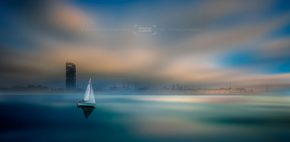 ...in the fog of the bay by CMD-Photography