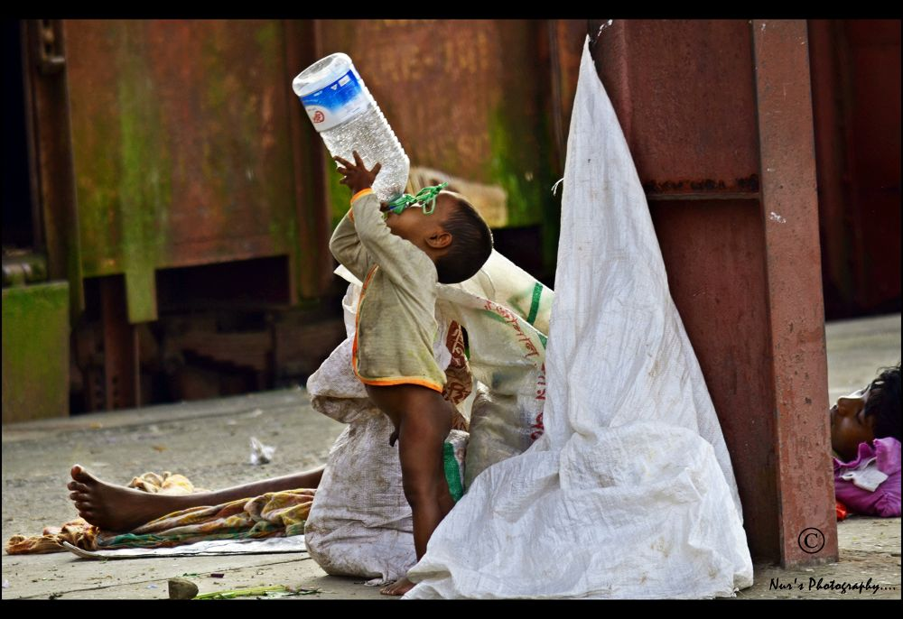 Thirst..When a drop of water costs a life!!  by nuruddin562