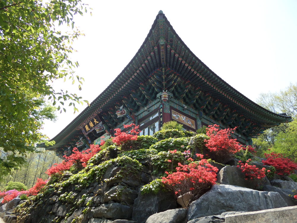 Mu Sang Sa Budhist Temple 1, South Korea by John Dal