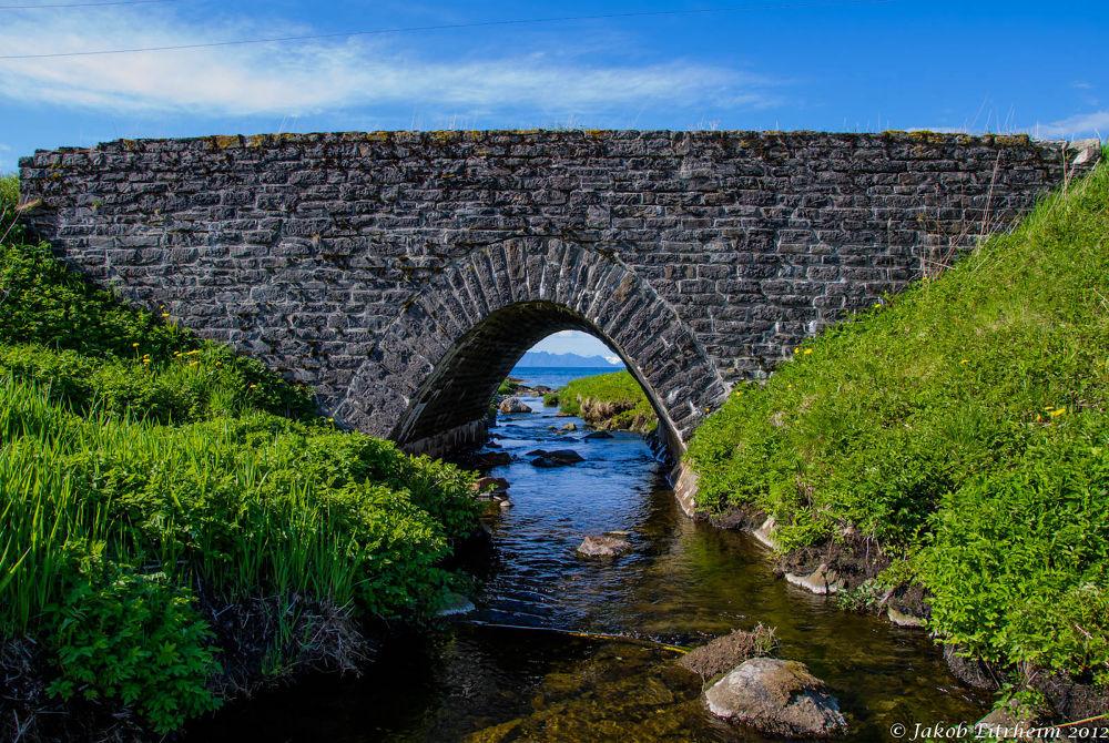 Bridge from WW2 by Jakob Eitrheim