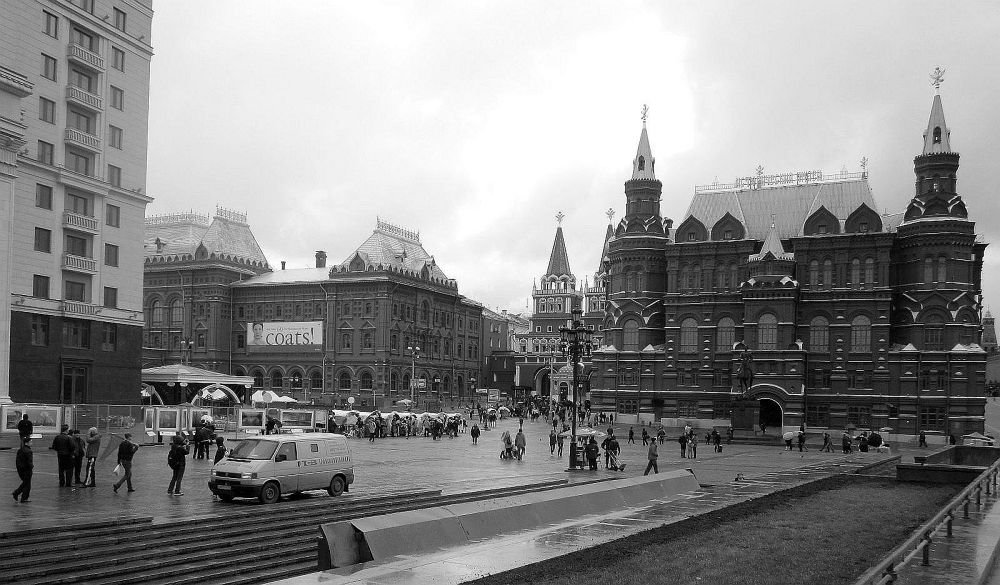 ONE DAY IN MOSCOW by Mulyatna Pakde