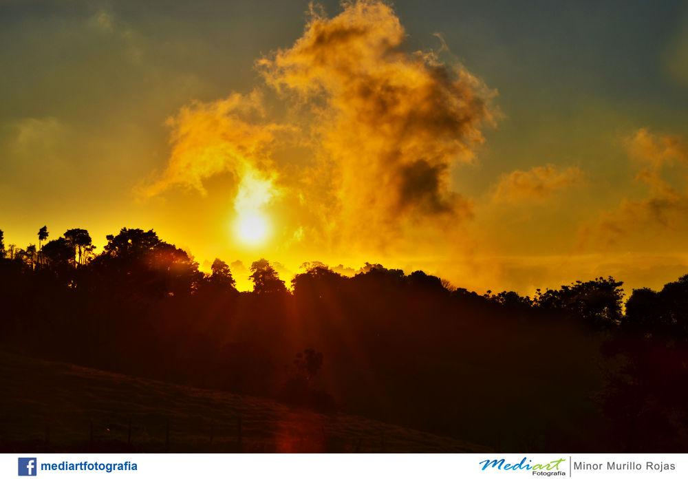 Cloudscape in Zarcero, Costa Rica by Mediart Photography