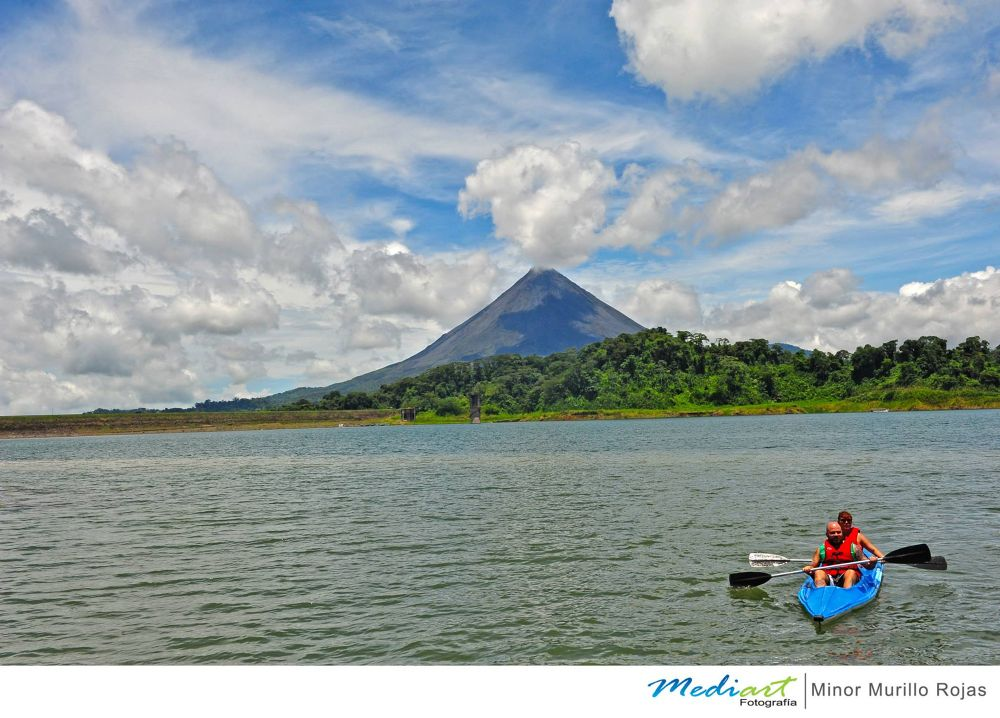 Lake Arenal in Costa Rica by Mediart Photography