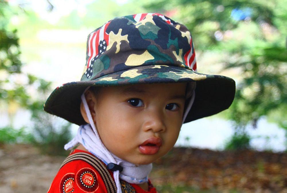 Baby's glint by chinhdohoang
