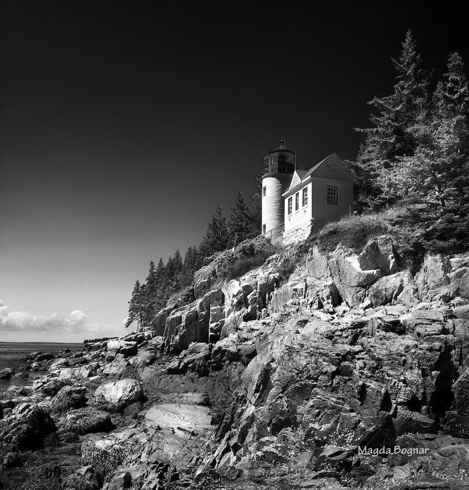 Bass Harbor Lighthouse by Magda Bognar