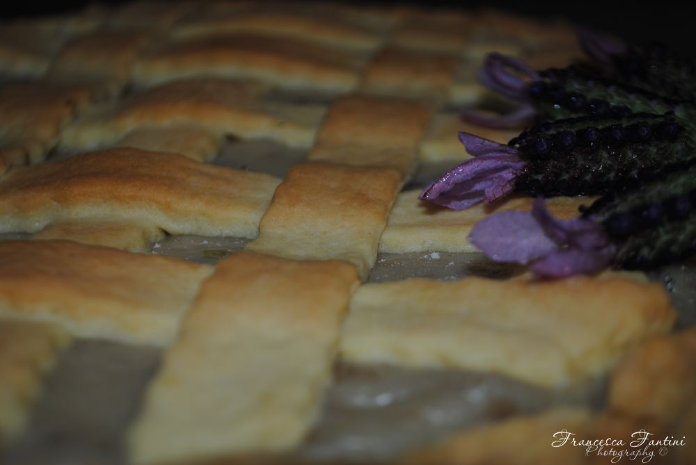Lavender pie by Francesca Fantini