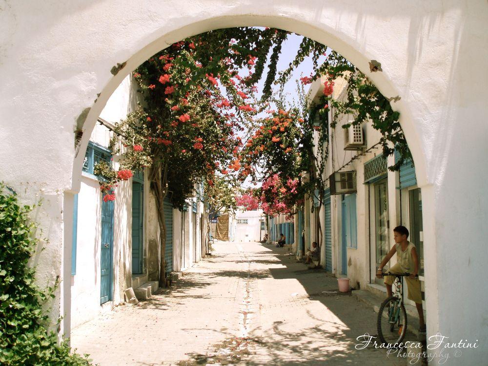Flowery Arch by Francesca Fantini