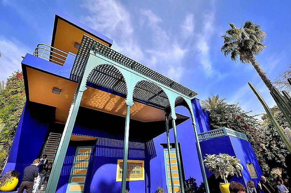 Jardin Majorelle-Marrakech by choayb mouizina