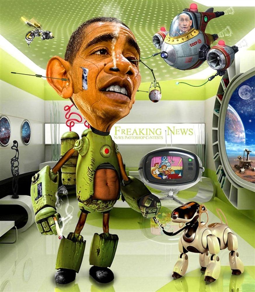 ObamaBot by rwpike