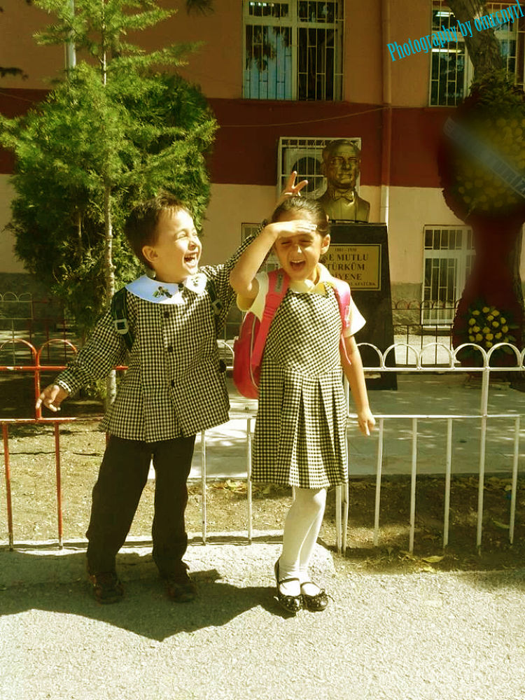 School first day:) by omurcanyerli