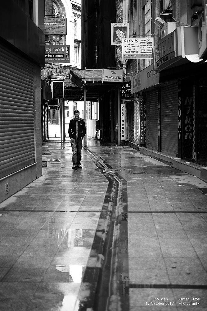 Only Man by Arman Kuzel