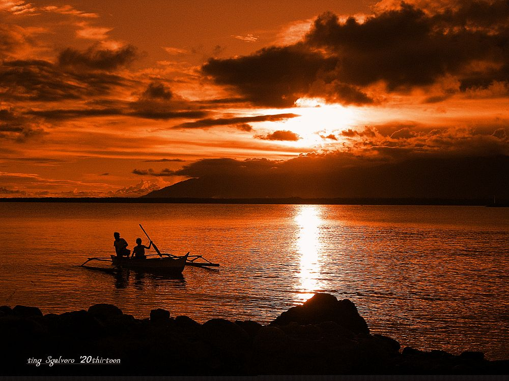 033Sunset in Brooke's Point Palawan by tingsgalvero