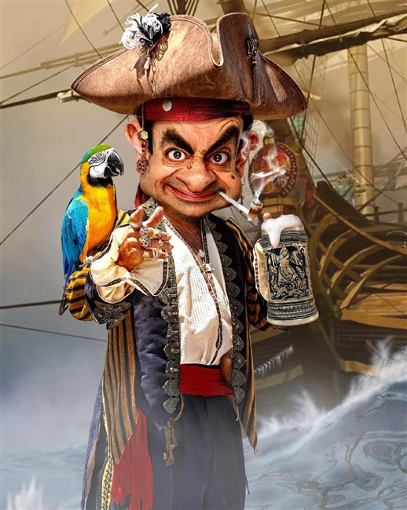 Photo in Random #pirate #bean