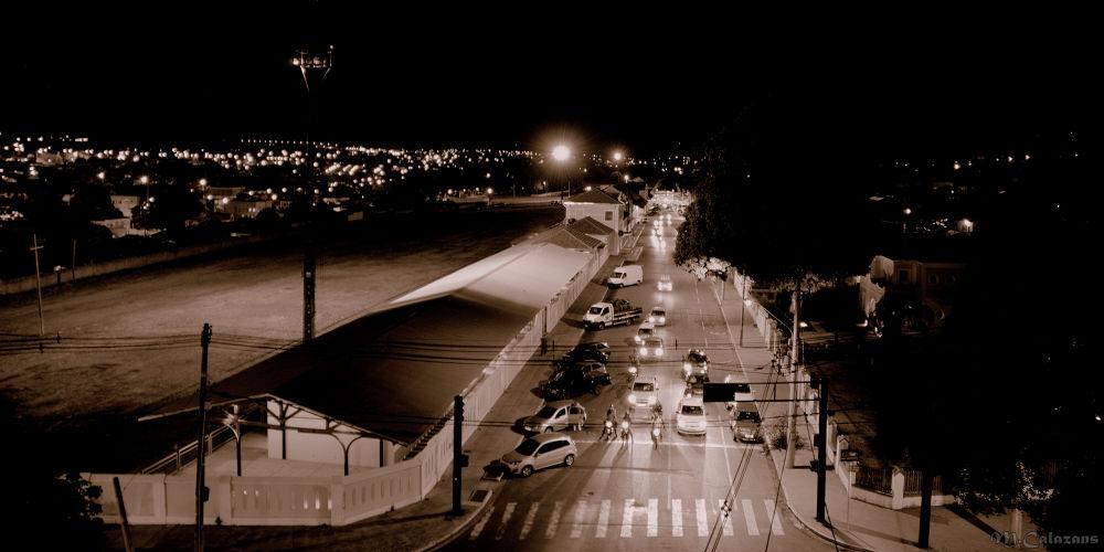 Photo in Urban #ypa2013. #ypa2013 #campo grande #noturna #estação ferroviária #campão