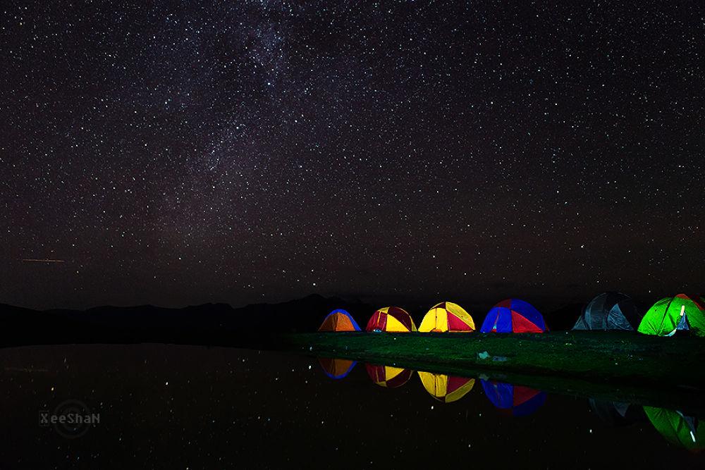 Camping at Paye - II, Shogran by xeeshan1