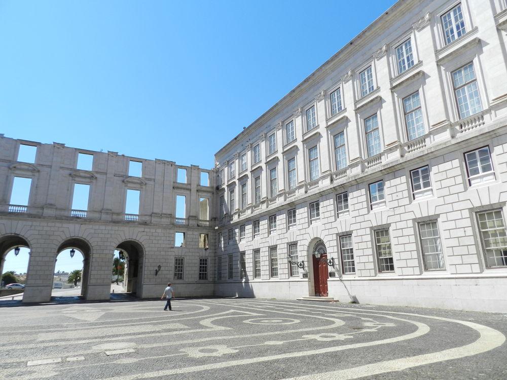 Átrio do Palácio da Ajuda by paulo antunes