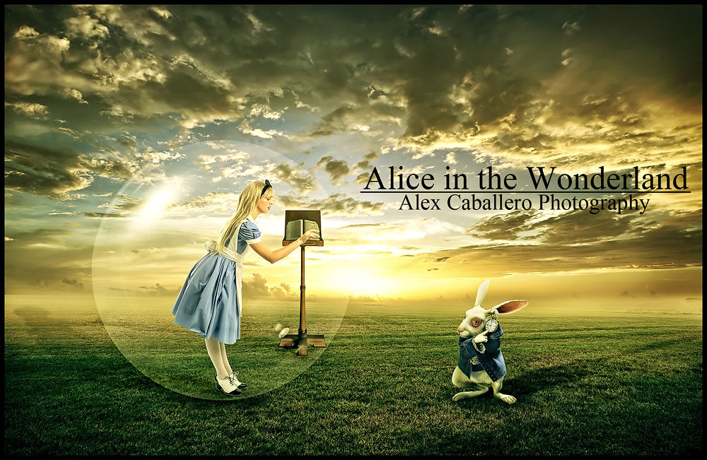 ALICE IN THE WONDERLAND by Alex Caballero Photography