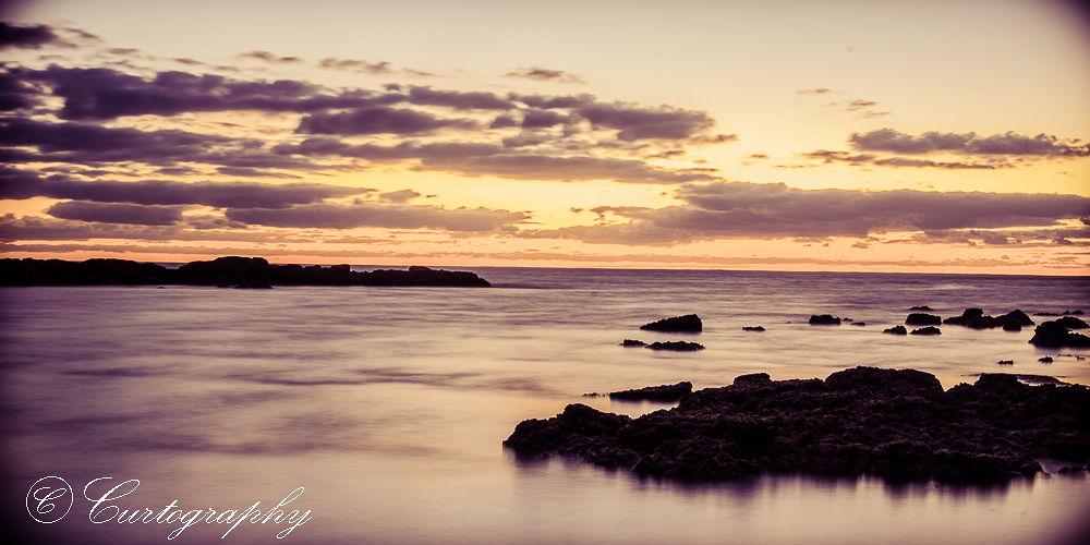 Sunrise at Trou D'eau Douce  by curtisdambra
