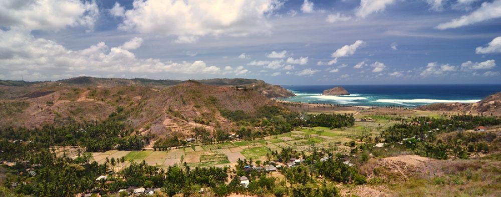 Photo in Landscape #lombok #landscape #scenery #beach #hill
