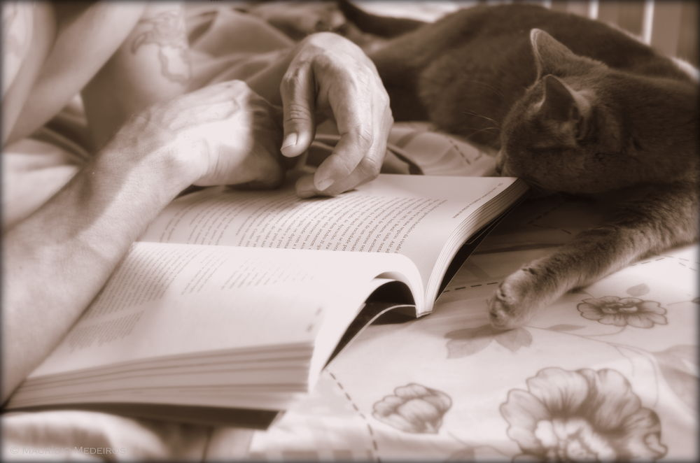 Read gives me sleep ... by Maum