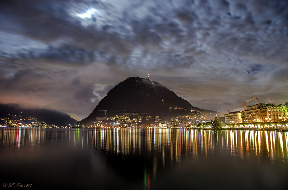 San Salvatore and Paradiso by Night by Lollo Riva