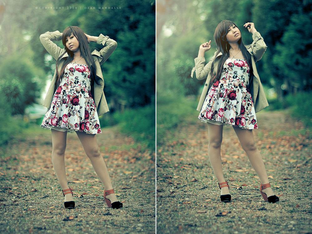 Photo in Portrait #portrait #manual lens #autumn #nikon