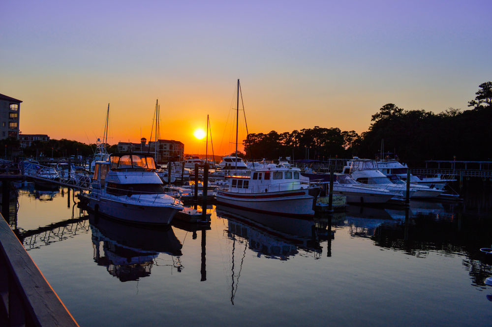 Harbour Sunset by bschuchman