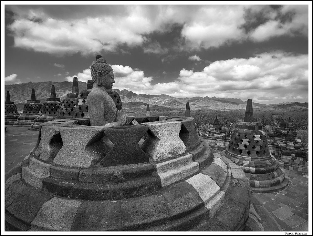 Photo in Black and White #putra #architecture #landscape #culture #archaeological