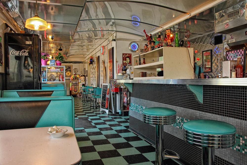 Photo in Interior #diner #fun #retro #cafe #history #canada