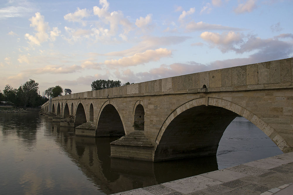 Meric Bridge by Ayten Öztürk