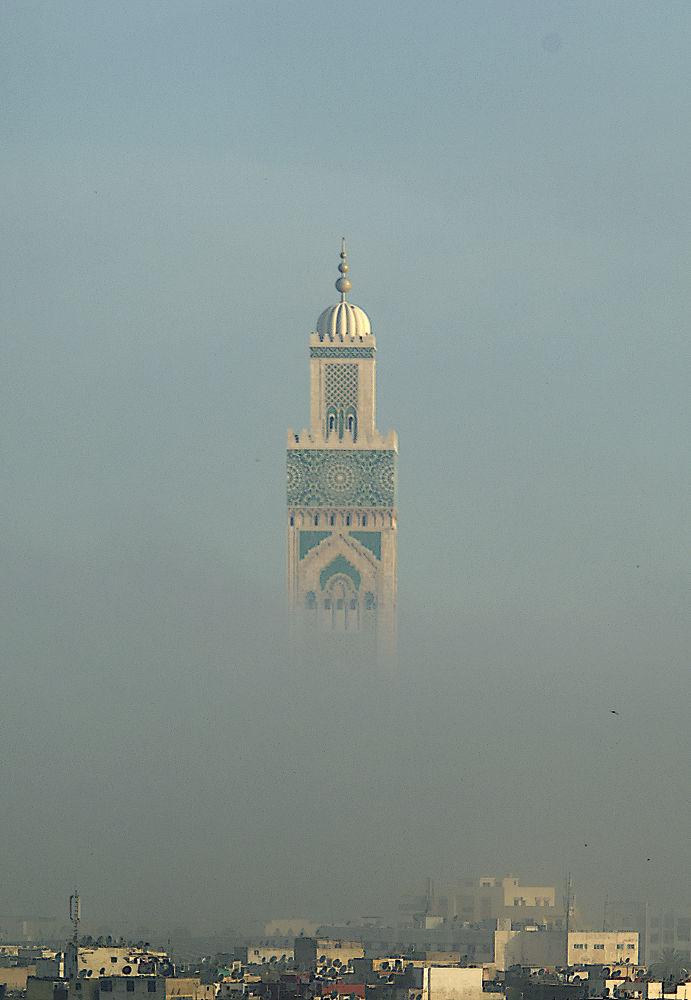 Hassan II Mosque by Ayten Öztürk