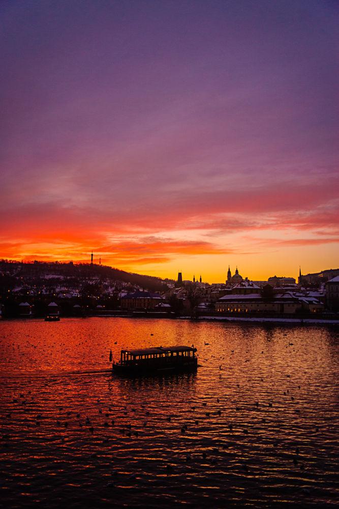 Atardecer en Praga by David Luengo