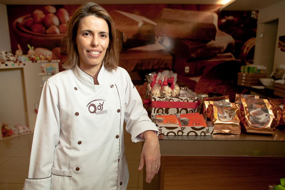 Photo in Portrait #qoy chocolates #andréia falci #gourmet #gastronomia #retrato #portrait