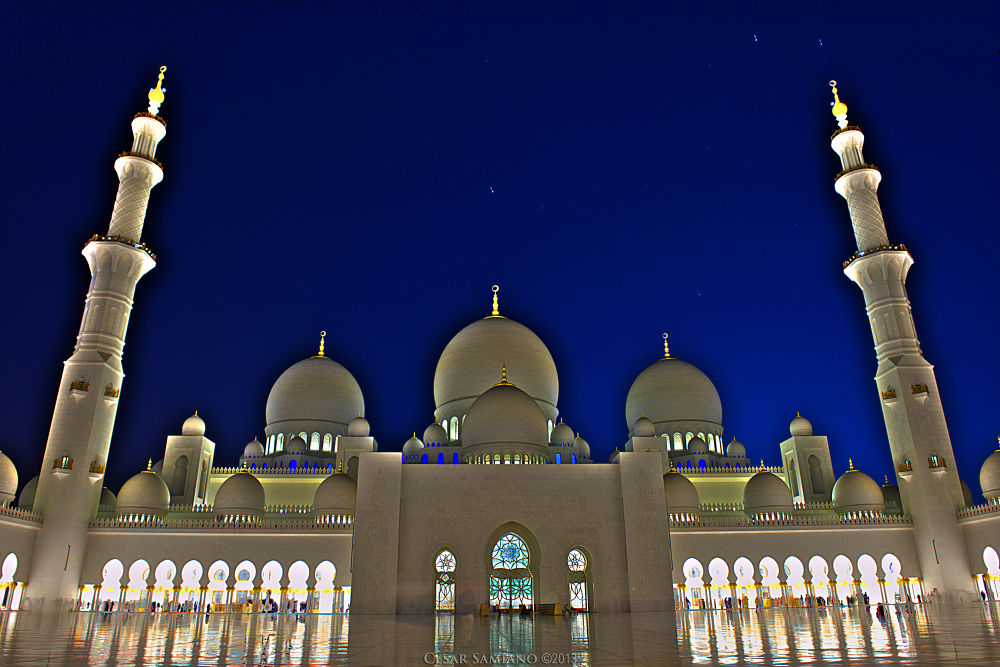 Sheikh Zayed Grand Mosque by cesarsamiano