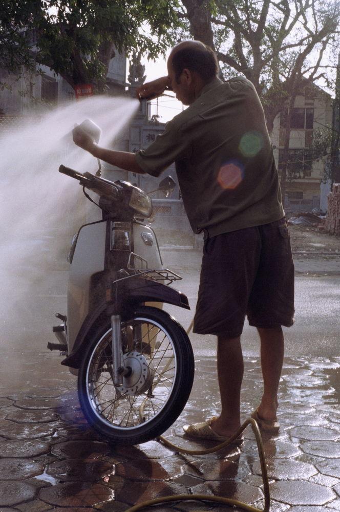 Bike washing by kouzmicserguei