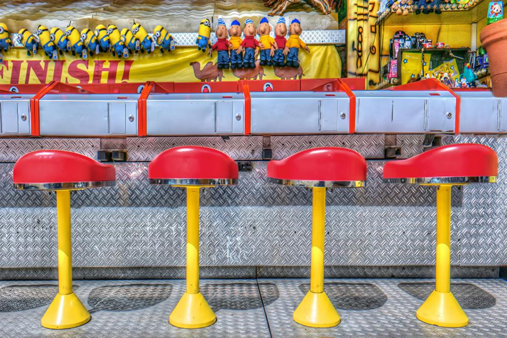 Funfair Amsterdam by Richard Marks