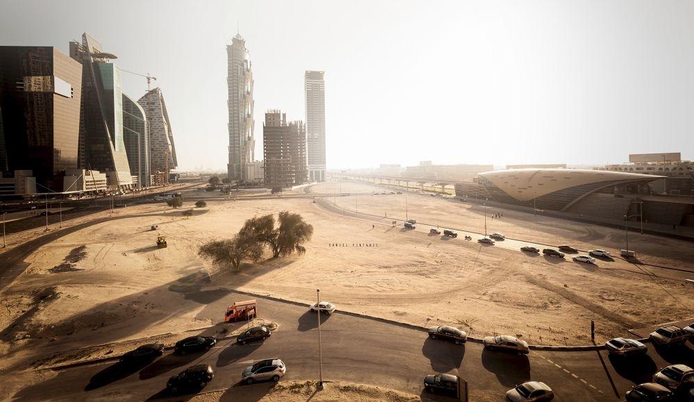 Dubai construction by DanielPintaric