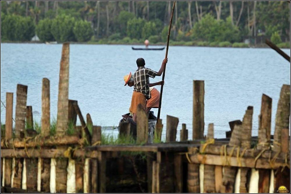 Backwaters of Kerala, India by Shihabphotography