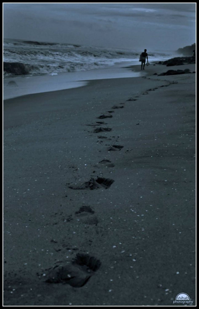 Foot prints by Shihabphotography