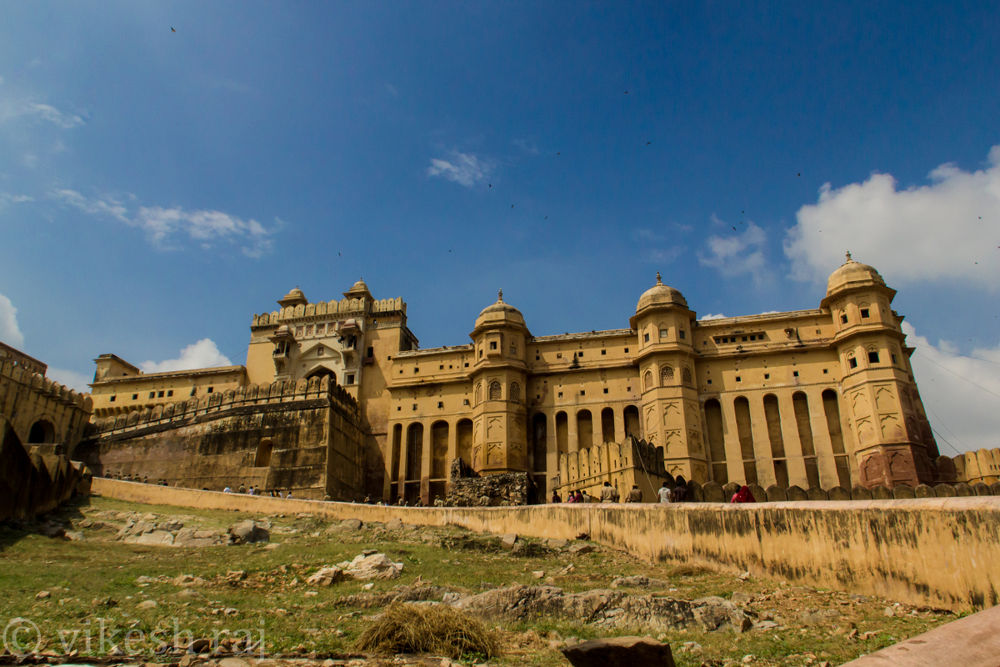 Amber fort, Jaipur by vikesh raj